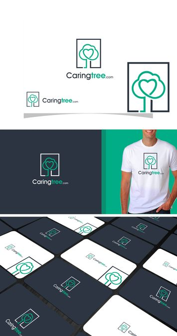 Create a modern logo for a senior services site by ZGRAPHICS.DE