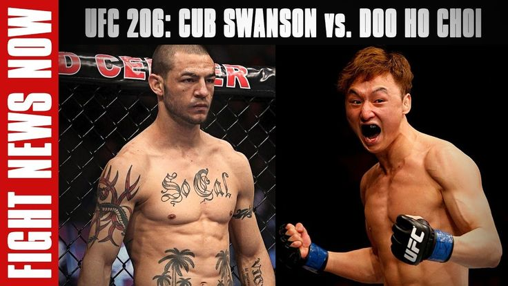 nice UFC 206: Cub Swanson vs. Doo Ho Choi, Julianna Pena & Jose Aldo Title Shot Snubs on Battle News Now