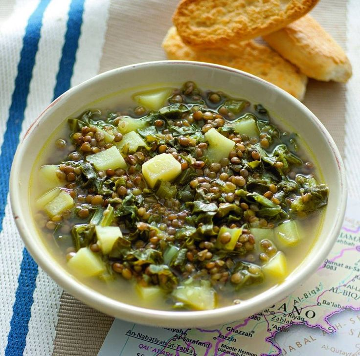 Zuppa di verdure e lenticchie