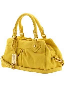 Marc Jacobs bag.  Wouldn't you just love to be able to afford just one Mark Jacobs bag and then to be able to have one in yellow too!