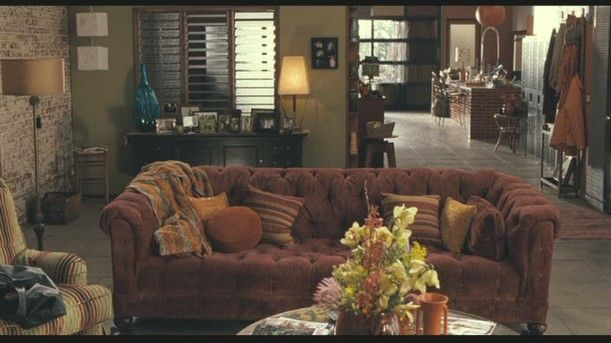 I love the movie Because I Said So. I related to Mandy Moore's character a lot, and I really love the feel of her home.