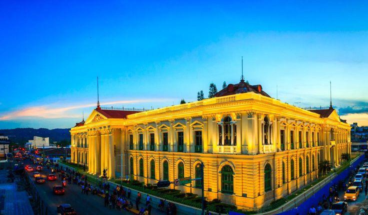 Palacio Nacional de El Salvador- Centro Histórico S.S.  Fuente: Alcaldía de San Salvador