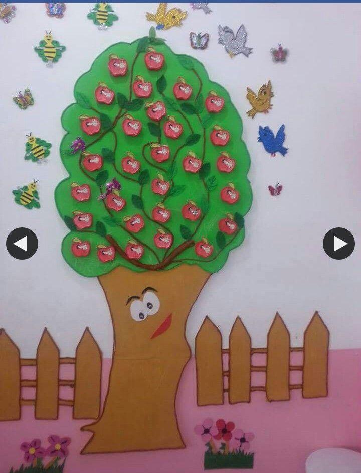 Okumaya başlıyorum elma boyama ağacı  faaliyet