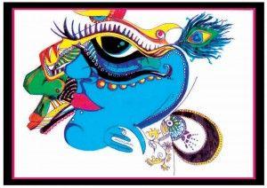 Krishna Krishna- Illustraion by Himanshu rai