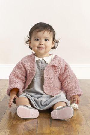 sweet simple crocheted sweater