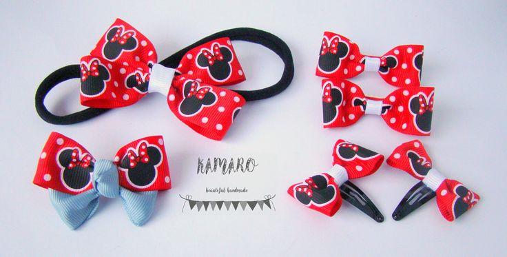 #handmade #hair #clip #Minnie #Mouse #minniemouse #myszkaminnie #accessories #bow #handmadehairclip #@kamarohandmade #hairclip #hairbow #hairband #fashiongirl #modnedziecko #hairaccessories #ozdobydowłosów #spinki #dziewczynka