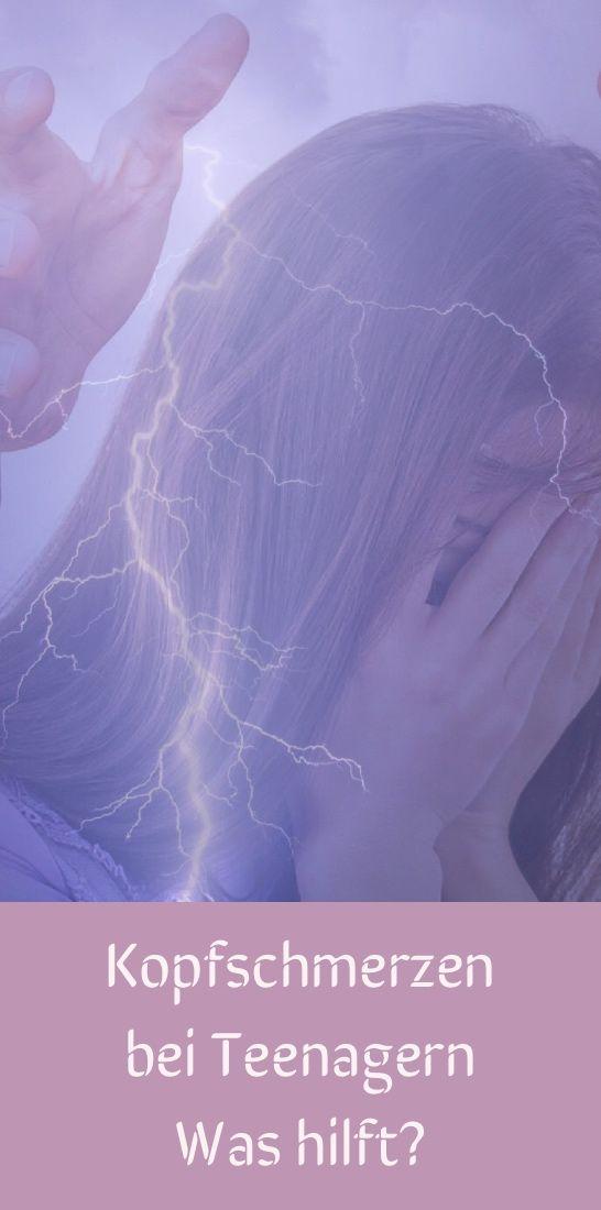 Kopfschmerzen bei Teenager - Was hilft?