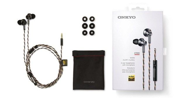 Onkyo E700MB/27 Hi-Resolution In-Ear Headphone Review
