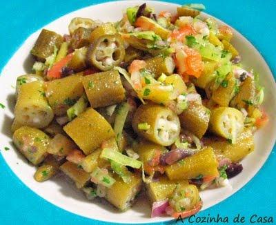 Salada de Quiabo … Mais