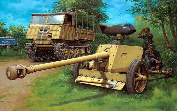 German 50 Mm Anti Tank Gun: 1000+ Images About WW2 German Anti Tank Guns On Pinterest