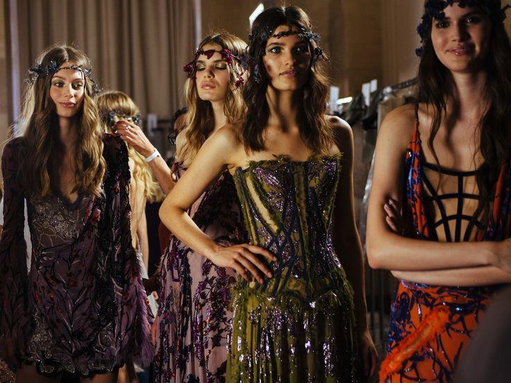 Atelier Versace Haute Couture AW15 Paris