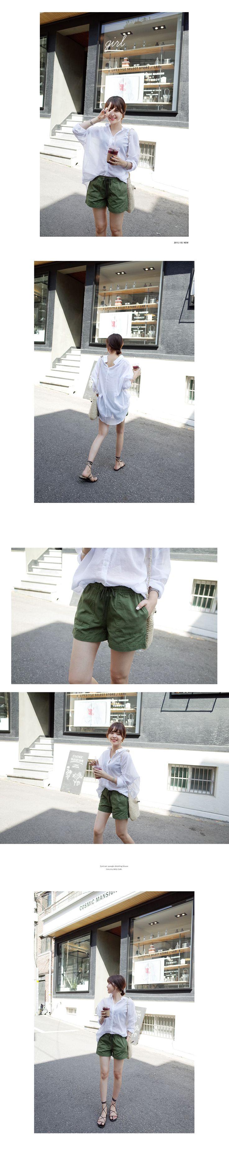 ウエストゴムショートパンツ・全5色パンツ・ズボンショートパンツ|レディースファッション通販 DHOLICディーホリック [ファストファッション 水着 ワンピース]