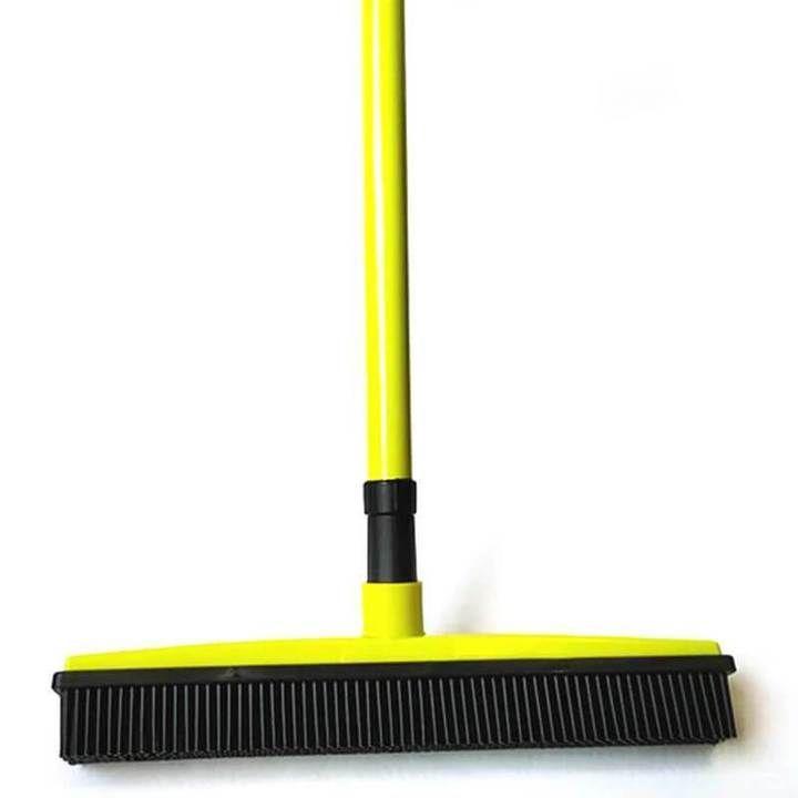 Multifunctional Rubber Broom In 2020 Rubber Broom How To Clean Carpet Broom