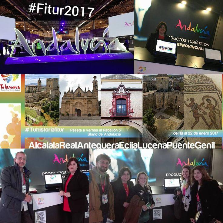 Primer día #Tuhistoriaenfitur Consejería de Turismo y Deporte Vive Andalucía Andalucía Network Andalucía Travel Bloggers ArqueoTrip - Guía Online de Turismo Arqueológico y Cultural #Andalucíaenfitur