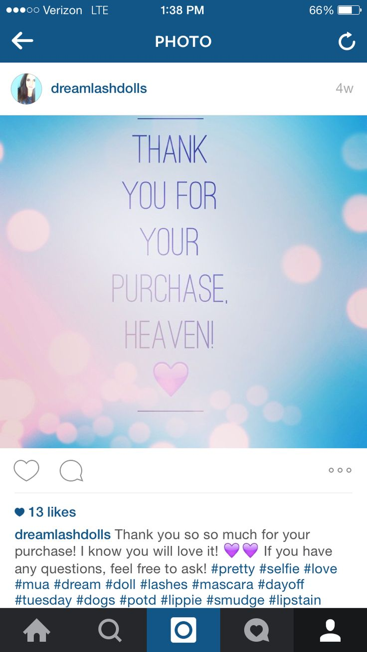 Thank you so so much for your purchase! I know you will love it!  If you have any questions, feel free to ask! www.dreamlashdolls.com #pretty #selfie #love #mua #dream #doll #lashes #mascara #dayoff #tuesday #dogs #potd #lippie #smudge #lipstain #best #friends #bestfriend #goingout #out #bye #time #work #timeflies #thistoowillpass #life #learn #yolo #give #live