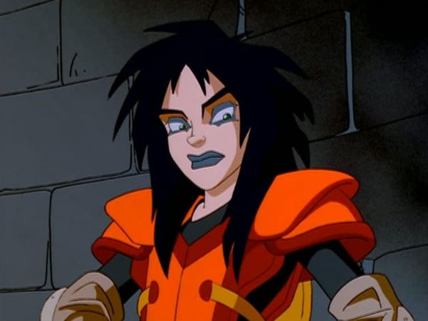 Kylie Griffin from Extreme Ghostbusters is one of the most followed animated #Goth girls