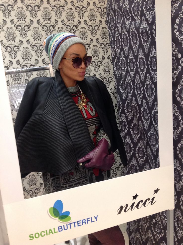 #PearlThusi at the #NicciWinter14 Launch