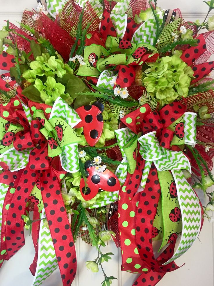 17 Best images about Spring Summer Wreaths on Pinterest