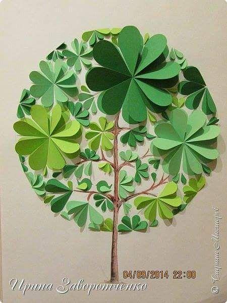daire_kağıtlardan_ağaç_yapımı.jpg (450×600)