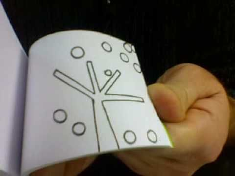 ▶ Flip Book : L'ARBRE (The Tree) - YouTube