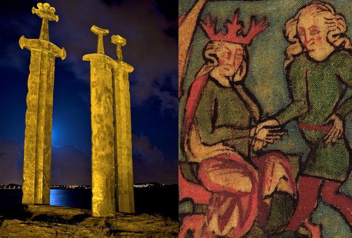 Sverd I Fjell – Swords In Rock:  Battle Of Hafrsfjord Won By Harald Fairhair – First King Of Norway