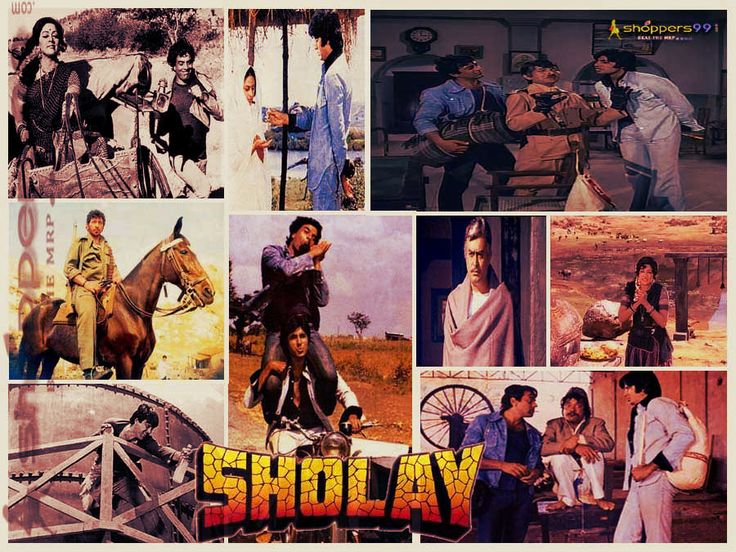 """""""#Sholay"""" completes 40 years. On August 1975, one of #India's biggest hits, Sholay was released. Who is Your Favorite Sholay character?"""