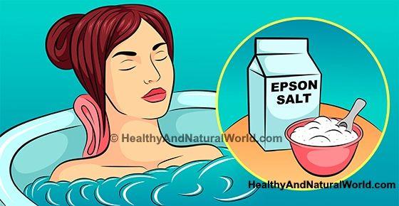 Epsom Salt Bath and Foot Soak – Benefits and Recipes