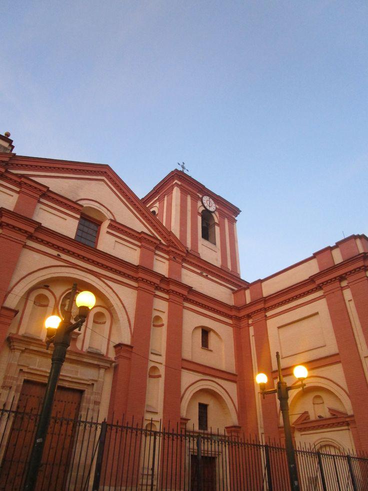Iglesia de San Ignacio de Loyola en La Candelaria, Bogotá D.C., Colombia.