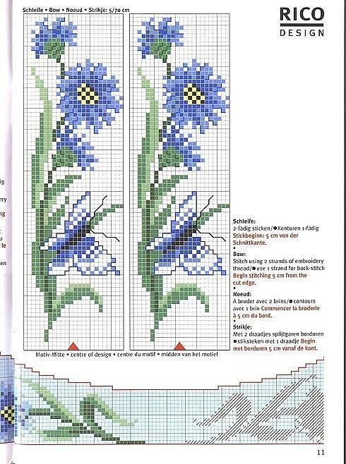 Gallery.ru / Фото #93 - KWIATY 3 - aaadelayda     cornflowers & blue butterflies