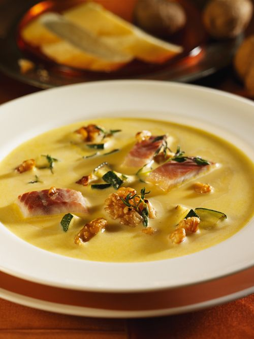 Linsen-Curry-Crème-Suppe