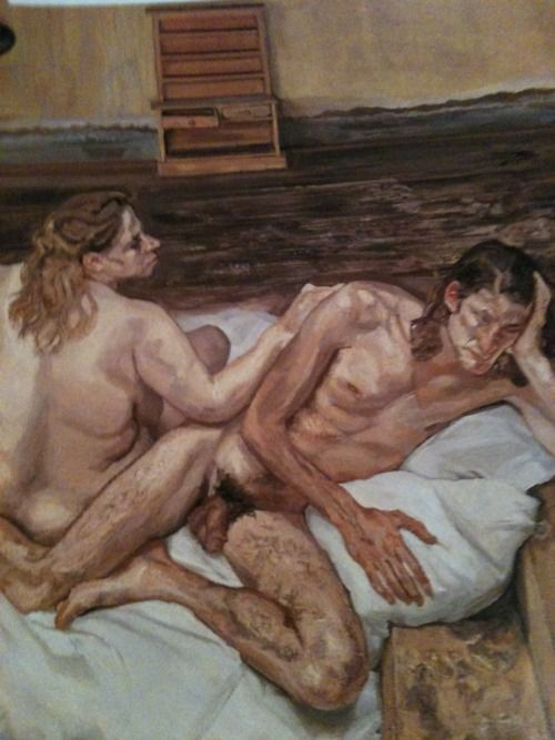 Lucian freud naked portrait are absolutely