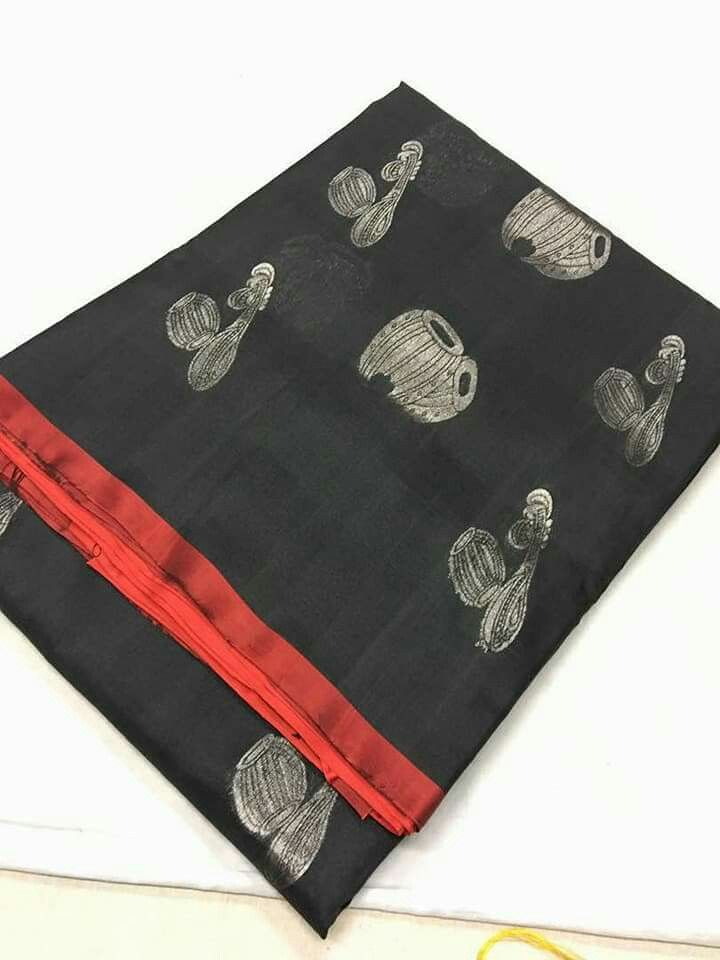 Kanchi border less n tissue sarees Order WhatsApp 7995736811
