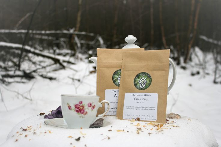 Any Tea party can use this Wiccan, Norse tea Made by TheForestWitch, She describes her wonderfull tea as a very creamy, full flavoured Egg Nog, with just the right spicing! And she is right :)