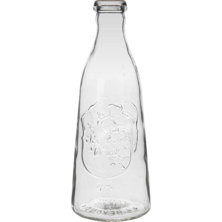 ice cold drink glass milk bottle 1 litre