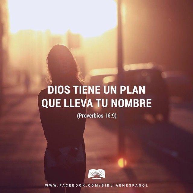 Dios tiene un plan que lleva tu nombre