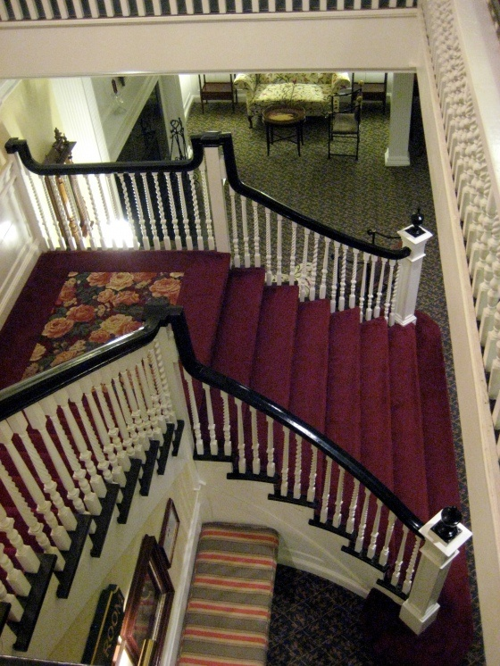 Stairway at the Balsams Grand Resort | Dixville Notch