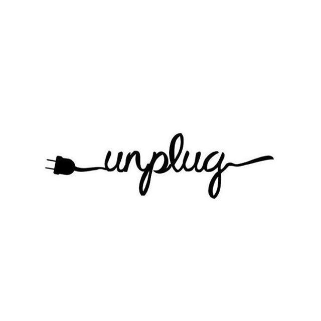 """Almost everything will work again if you unplug it for a few minutes. Including you."" Anne Lamott"