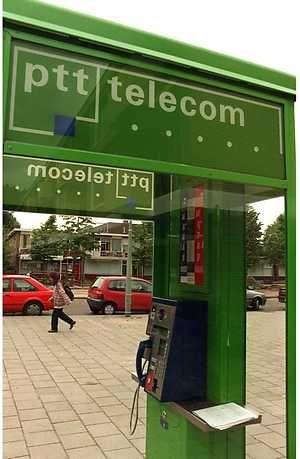 PTT telefooncel