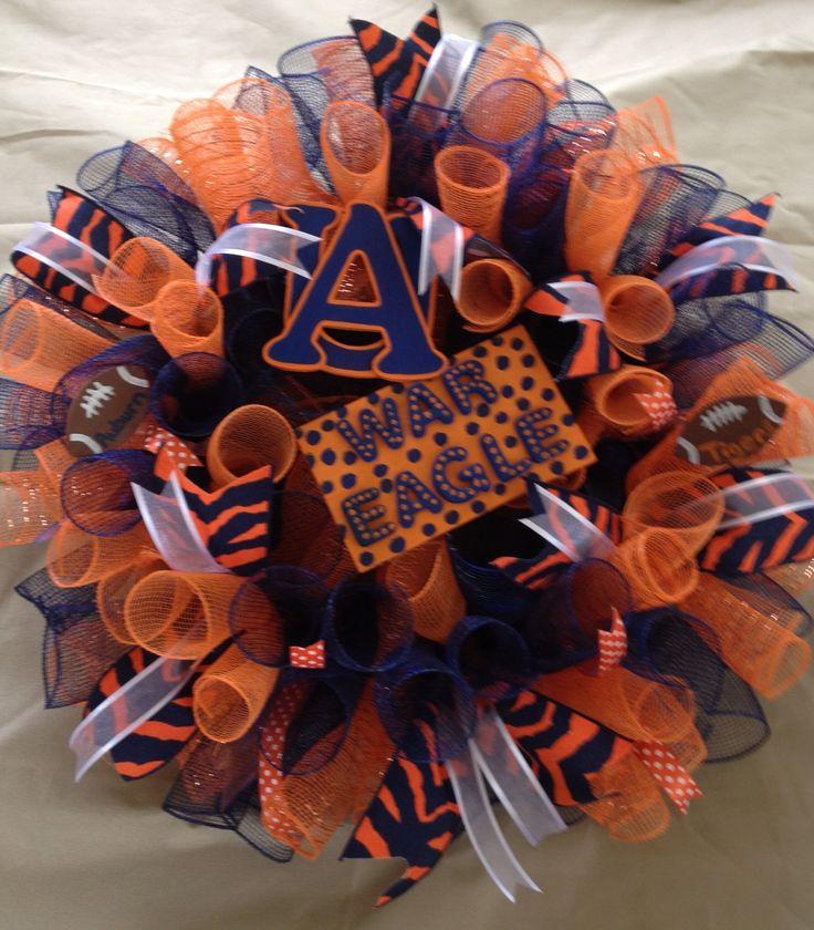 My Auburn Wreath