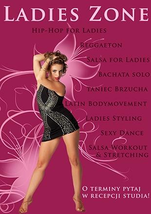 BIG BANG: Ladies Zone w nowym librowym sezonie 2012/13!    Przygotowaliśmy dla Was Was mnóstwo zajęć stworzonych specjalnie dla Pań! Od salsowych, bachatowych zajęć solo przez latin bmv for girls, cuban solo, tropicana style i shakira style po taniec brzucha, ladies hiphop, ladies styling i salsową grupę choreograficzną dla Pań!!!    Szczegóły na:  http://www.salsalibre.pl/web/content/view/1031/188/lang,pl/