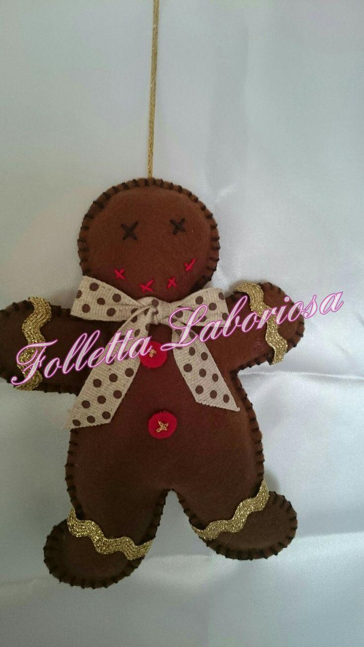Oltre 1000 idee su decorazioni natalizie col feltro su - Decorazioni natalizie in feltro ...