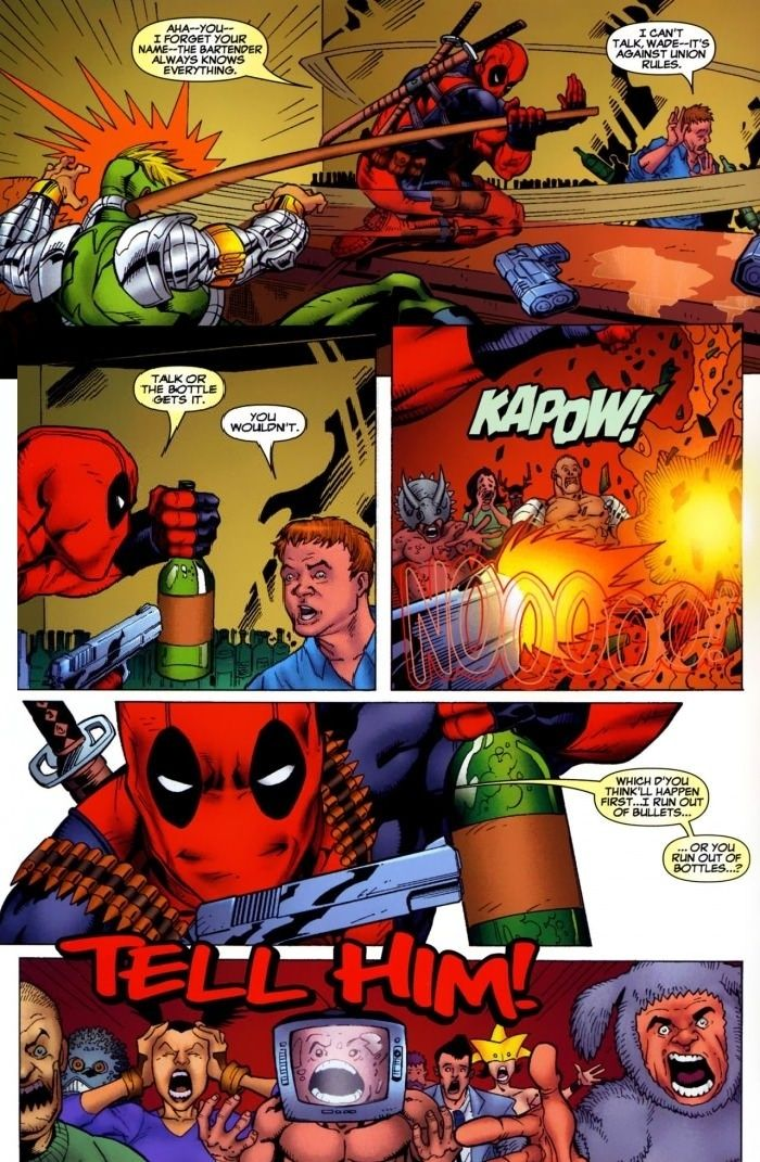 Oh, Deadpool... // funny pictures - funny photos - funny images - funny pics - funny quotes - #lol #humor #funnypictures