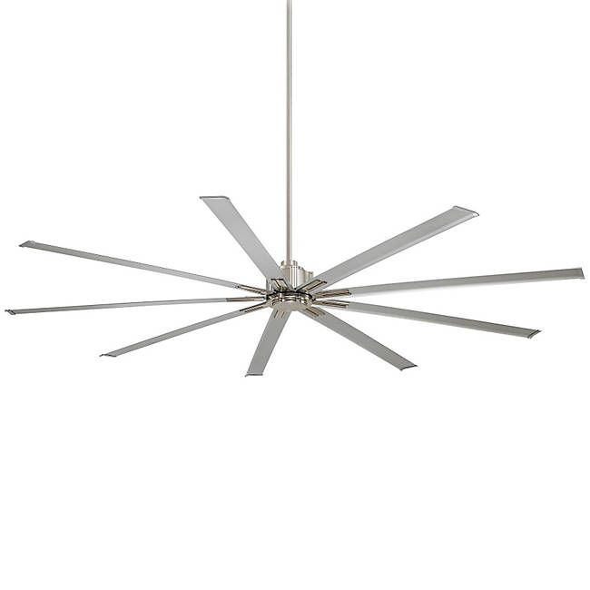 For an extremely large ceiling fan, check out the Minka Aire Xtreme Fan at Lumens.com