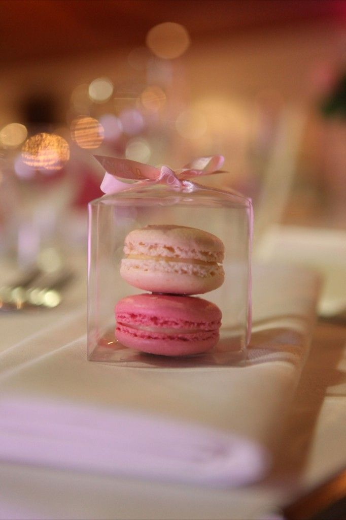 French Macaron wedding bomboniere by 'Very Special Celebrations'