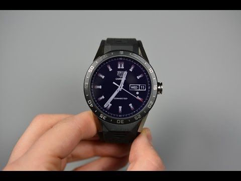 TAG Heuer Connected Unboxing and Tour! - YouTube