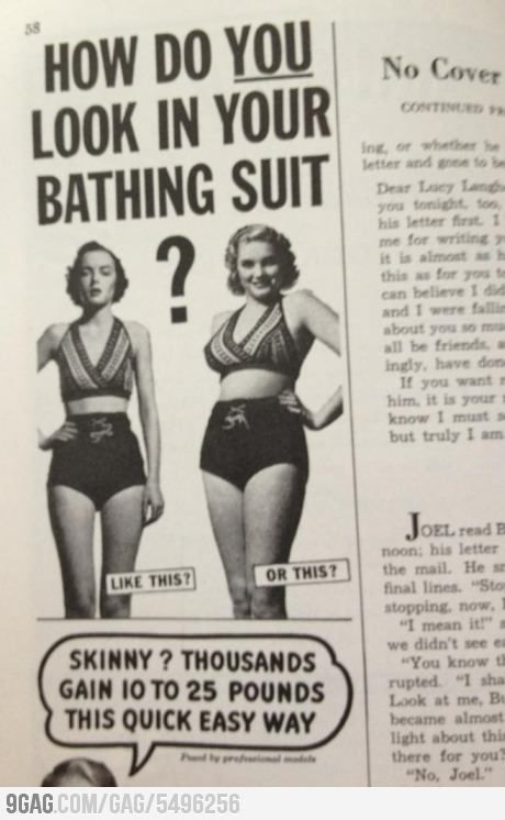 Magazine from the 1950s.