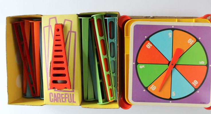 Vintage Ideal Careful The Toppling Tower Game 1967 by WylieOwlVintage on Etsy