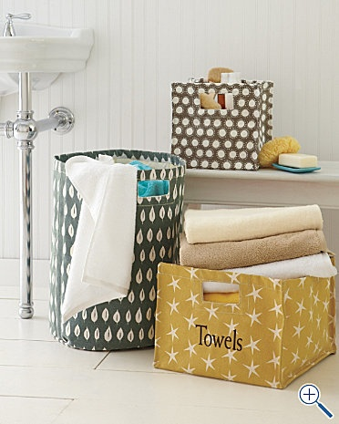 Perfect For Bath, Kids Hamper, Craft Storage, Or Toy Storage. Thinking  Maybe Making One If These For Toy Storage In The Living Room: Inexpensive  And ...