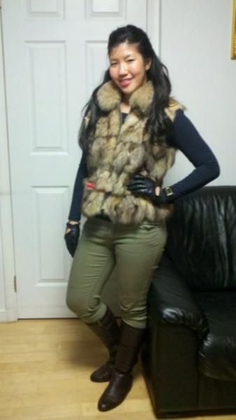 fur to stay warm!