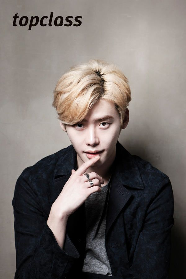 Lee Jong Suk ♡ #KDrama // Top Class Magazine March Issue '14